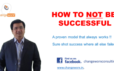 5 Proven Tips on How To Not Be Successful !!