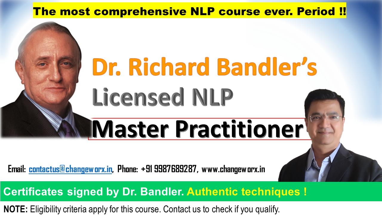 Licensed NLP MASTER Practitioner workshop - ChangeWorx